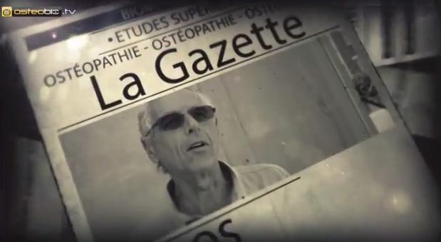 LA GAZETTE OSTEOBIO – VISITE DE L'ECOLE