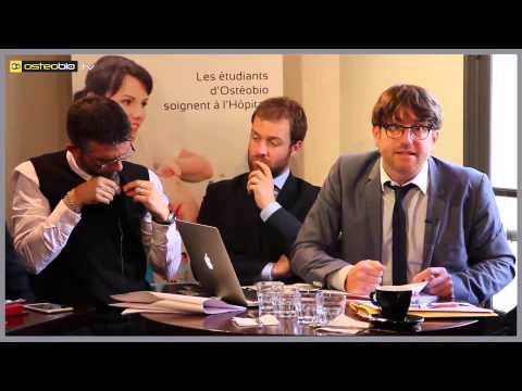 Xavier Blusseau – Conférence de presse AFO, IOB et Ostéobio