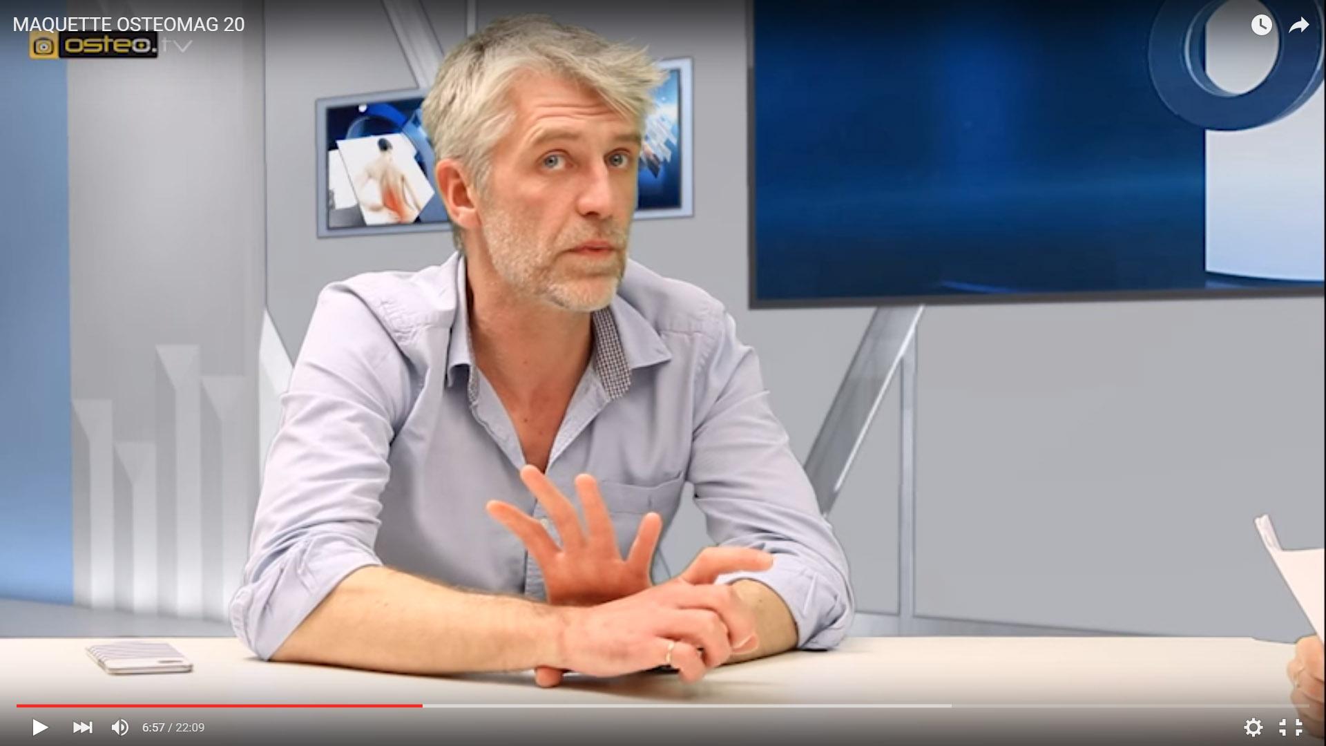 Ergonomie et recherche en biomécanique – OSTEOMag 20
