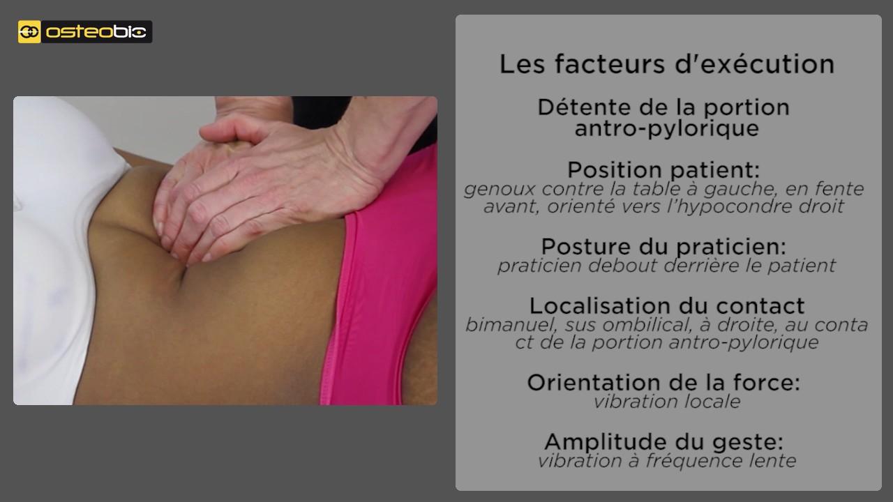 stimulation de la portion antro-pylorique_détente de la portion antro-pylorique