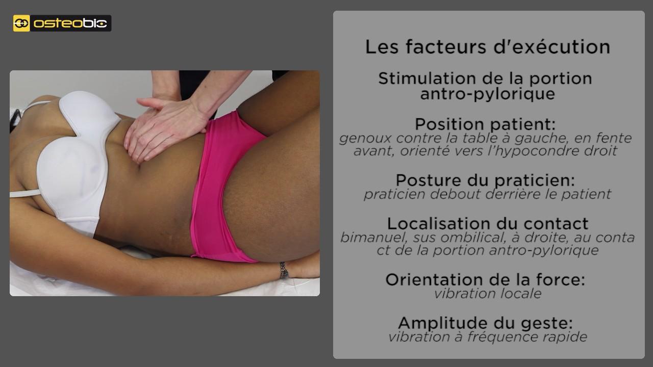 stimulation de la portion antro-pylorique