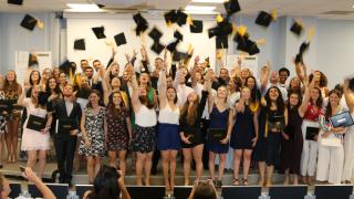 Remise des diplômes promotion LEONARD DE VINCI